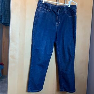 Capri jean pants